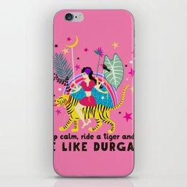 Be like Durga iPhone Skin