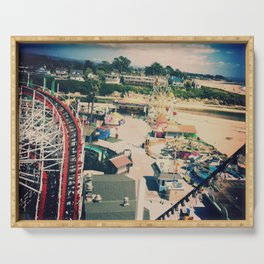 Santa Cruz Giant Dipper Rollercoaster Serving Tray