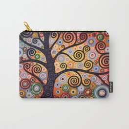 Abstract Landscape Original Art ...WESTERN SUN, by Amy Giacomelli Carry-All Pouch
