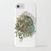 voyage iPhone & iPod Cases featuring VOYAGE by TOO MANY GRAPHIX