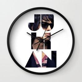 Julian Casablancas The Strokes Font Sunglasses Wall Clock
