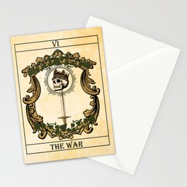 Tarot - The War v.2 Stationery Cards
