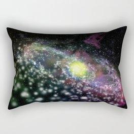 Nəbulous Rectangular Pillow