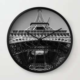 Eiffel Tower, Paris, France Wall Clock