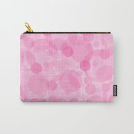 Pink Bubbles 1 Carry-All Pouch