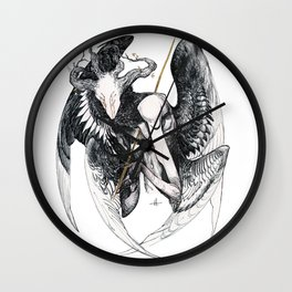The Mourning Star Wall Clock