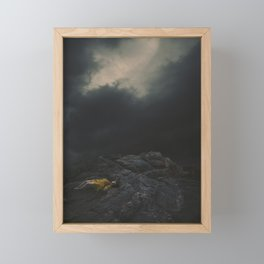 In the Shallow of the Night Framed Mini Art Print