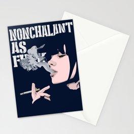 Nonchalant AF Stationery Cards