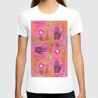 hands T-shirts featuring Hands by LebensART