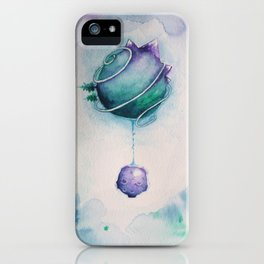 Planetary Moon Drips iPhone Case