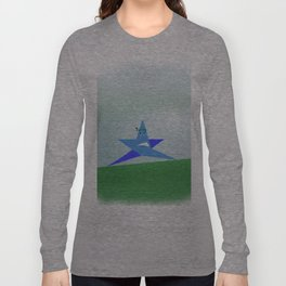 Angry star Poster Long Sleeve T-shirt