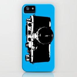 Leica in Blue iPhone Case
