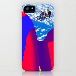 Space Woman iPhone Case