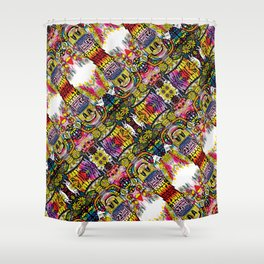 Holy Grail Poster Shower Curtain