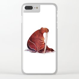 Walrus Clear iPhone Case