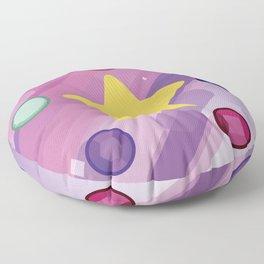 The Crystal Gems Floor Pillow