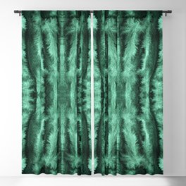 FEATHERY WATERCOLOR PATTERN-2 Blackout Curtain