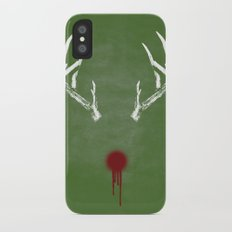 Rudolph the Bloody Nosed Reindeer iPhone X Slim Case