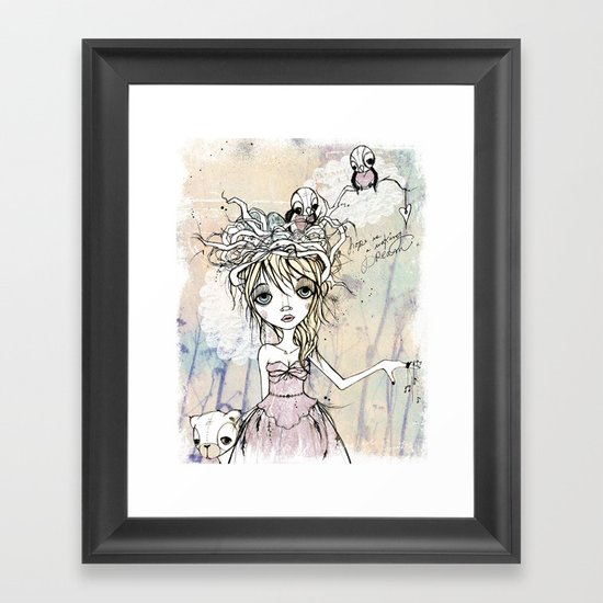 DREAMER'S AWAKE Framed Art Print