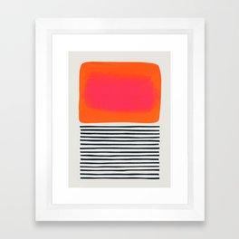 Sunset Ripples Framed Art Print