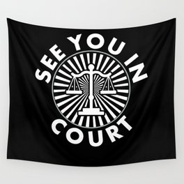 Lawyer Law School Student Attorney Wall Tapestry