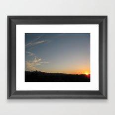 Jamaica - Sunsets II Framed Art Print