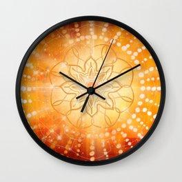 Svadishthana - Chakra 2 Wall Clock
