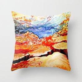 Canyons Throw Pillow