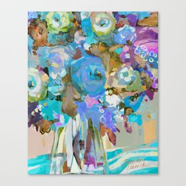Bloom Fresh, Rest Well Canvas Print
