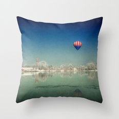 The Winter Dream Throw Pillow