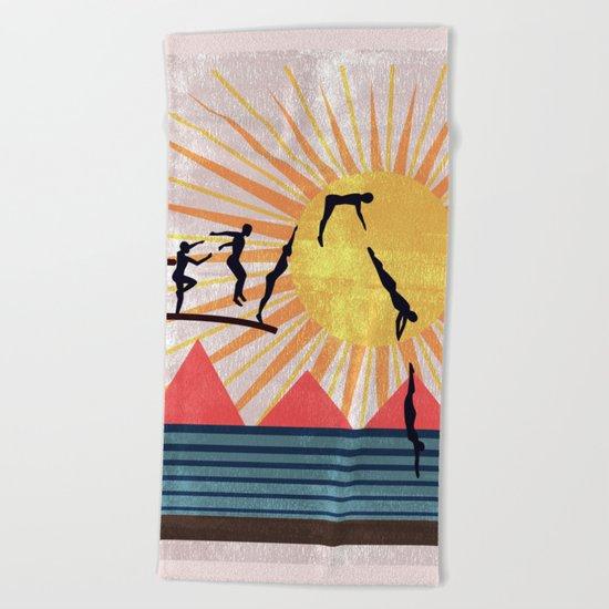 SUMMER POOL Beach Towel