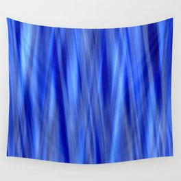 Pattern serie waves 2 blue Wall Tapestry