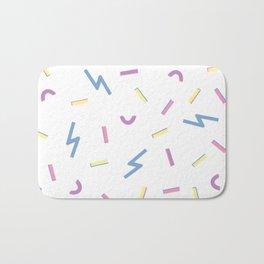 Jazzy Confetti Dance Party Bath Mat