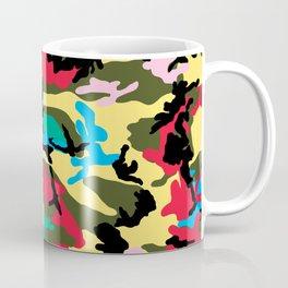 Multicolors Camouflage Coffee Mug