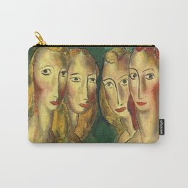 Four Sisters by Alfred Henry Maurer Carry-All Pouch