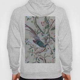 Antique Chinoiserie with Bird Hoody