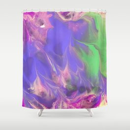 Frosted Spring Shower Curtain