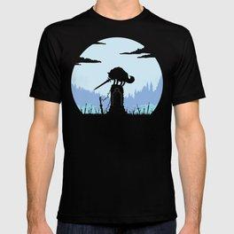Grey Wolf Sif (Dark Souls) T-shirt