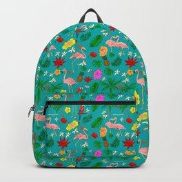 Boho Paradise Turquoise Backpack
