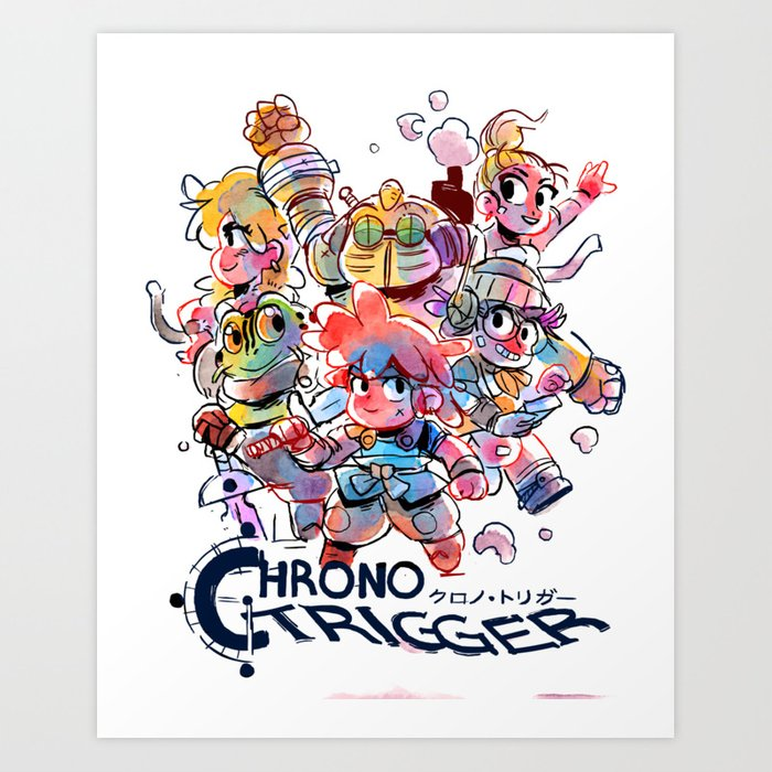 Chrono Trigger (クロノ・トリガー) Kunstdrucke