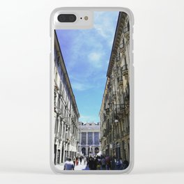 Turin in May Clear iPhone Case