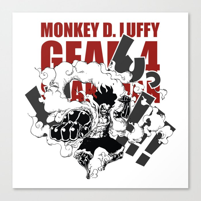 Gear 4 Snakeman Monkey D Luffy Canvas Print By Claystage