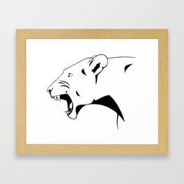 Power of the Pride Framed Art Print