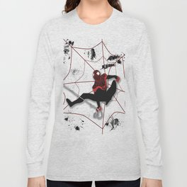 Ultimate Spider-man Miles Morales Long Sleeve T-shirt