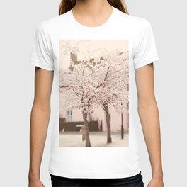 Village in Blossom T-shirt