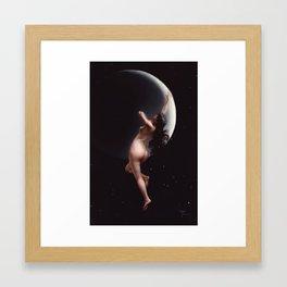 The moon Nymph by Luis Ricardo Falero Framed Art Print