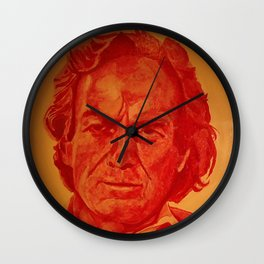 Richard Feynman Wall Clock