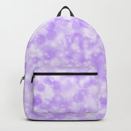 Ultra Violet & Lavender Pearls of Light Backpack