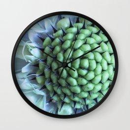 Beautiful but dangerous - Cephalaria Dipsacoides Wall Clock