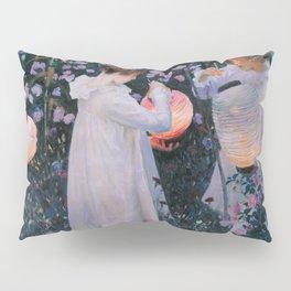 John Singer Sargent ; Carnation, Lily, Lily, Rose ; 1886 Pillow Sham